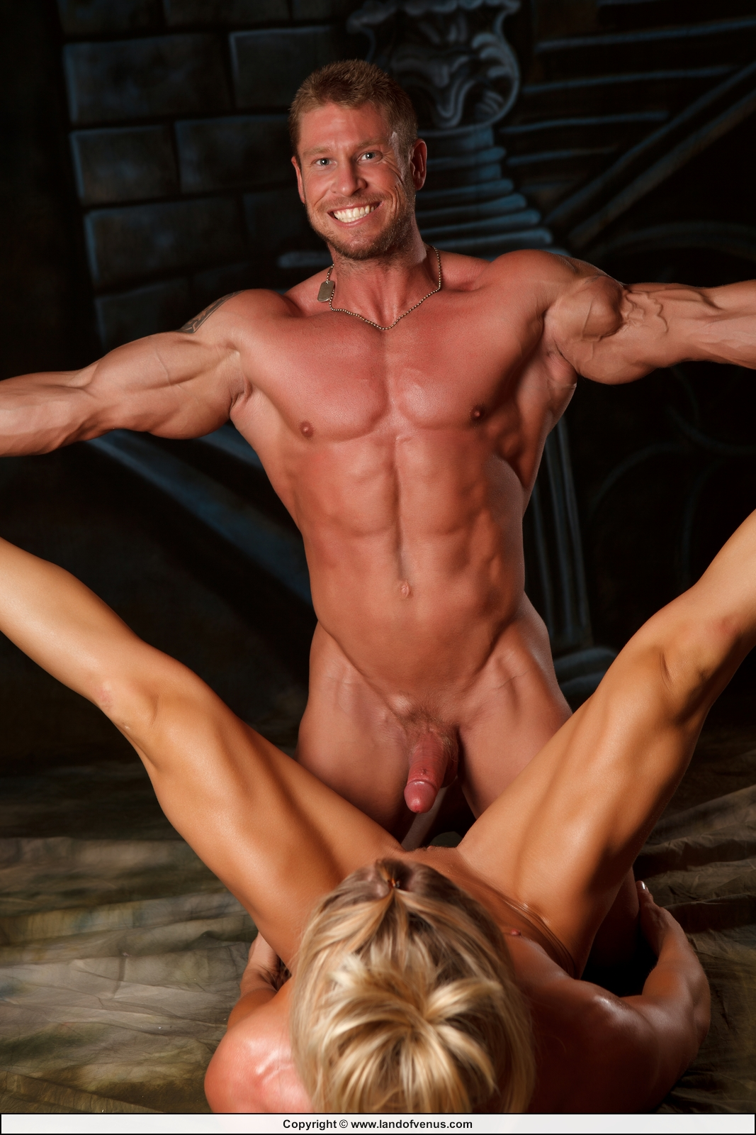 Woman bodybuilder with a penis porn sex