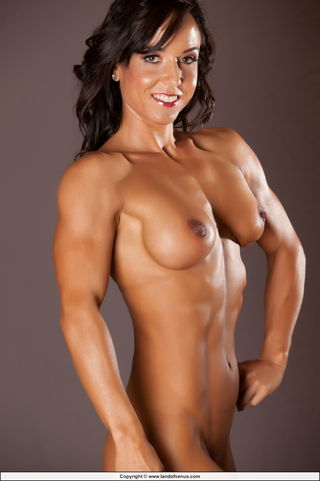 Naked fitness models female