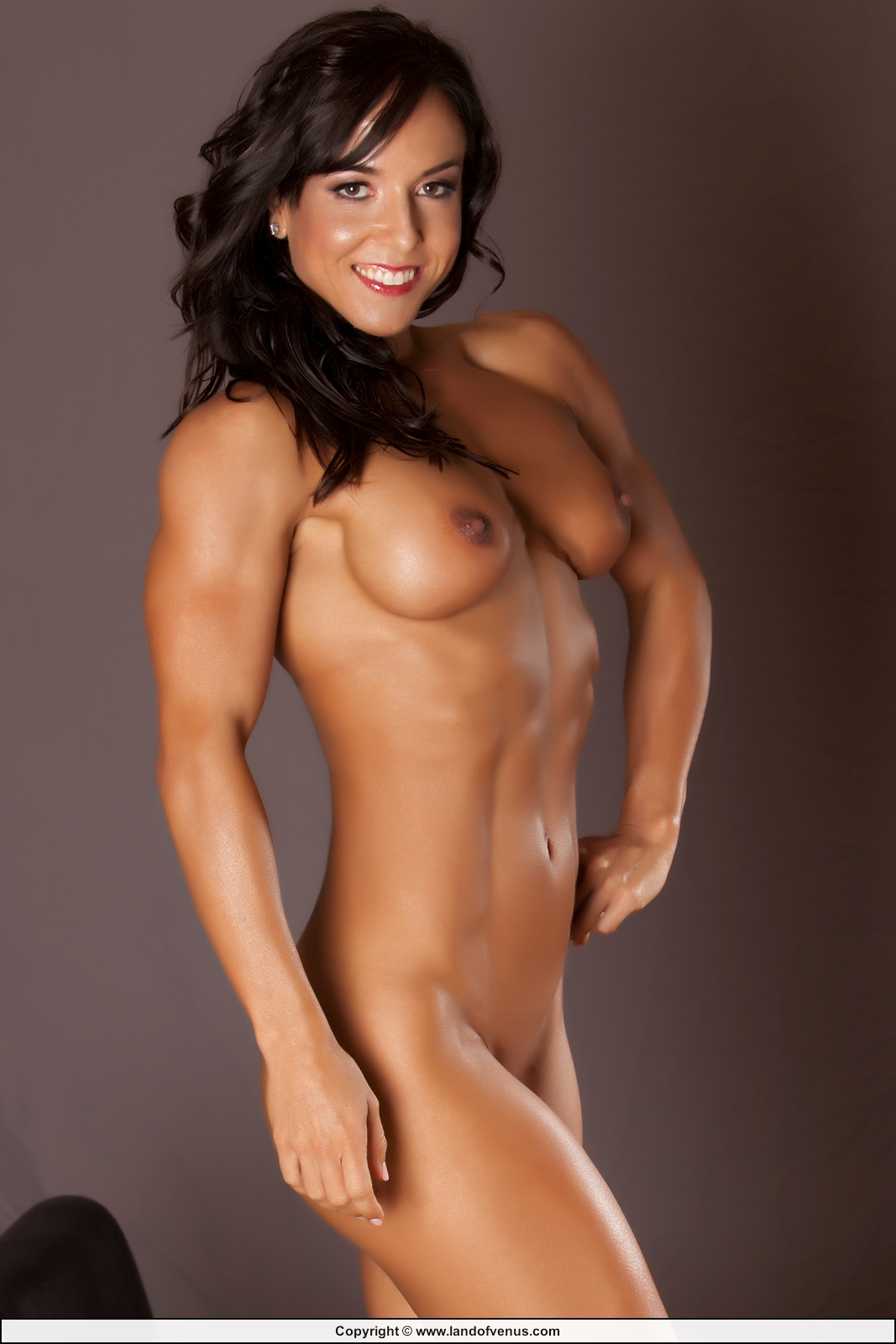 Hot nude women fitness models