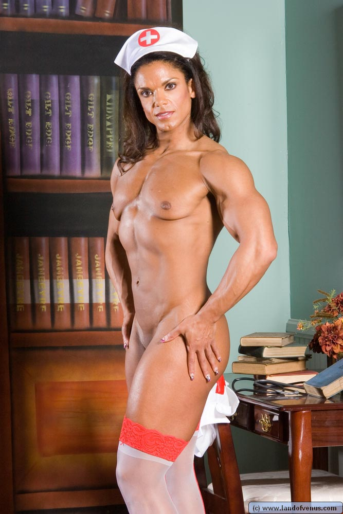 Baker female bodybuilder nude michelle
