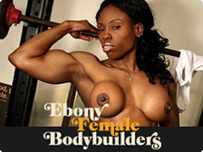 Ebony Female Bodybuilders - Hard Ebony Muscles